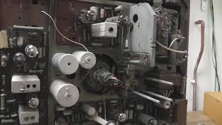 Diagnostika elektronkové televize Balaton