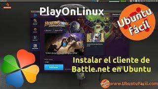 Instalar Starcraft 2 y HearthStone en Ubuntu con PlayOnLinux