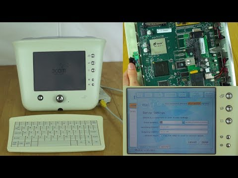 "3com Ergo Audrey - Failed Year 2000 ""Internet Appliance"" - Demo and Teardown"