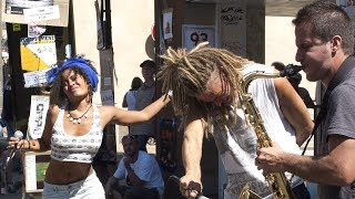 Top 10 Street Performance Duets With Random Strangers Compilation