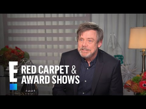 """Mark Hamill Gushes Over Billie Lourd in """"The Last Jedi""""   E! Live from the Red Carpet"""