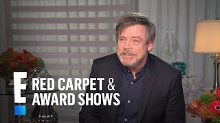 """Mark Hamill Gushes Over Billie Lourd in """"The Last Jedi"""" 
