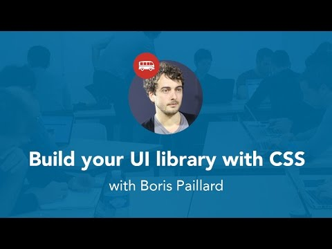 Build your UI library with CSS