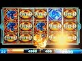 "Dragon Spin Slot Machine $4 Max Bet ""Lock In Place Wilds"" BIG WIN Bonus!"