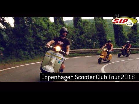 Copenhagen Scooter Club Vespa \u0026 Lambretta Tour 2018