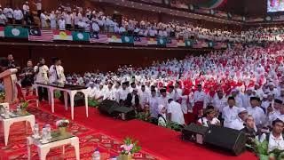 KETIBAAN PRESIDEN UMNO DAN PAS TIBA DI HIMPUNAN BERSEJARAH PENYATUAN UMMAH #HPU914 Video
