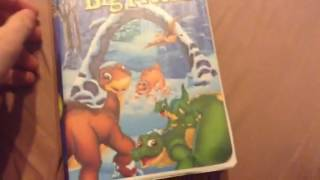 My The Land Before Time VHS/DVD Collection