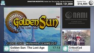 Golden Sun: The Lost Age by CriticalCyd (RPG Limit Break 2017 Part 10)