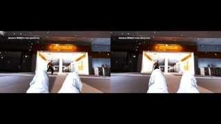 Mirror's Edge в 3D без очков (Стереопара / side by side) [HD 720p]