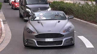 Aston Martin MANSORY DB9 Volante - Exhaust Sounds!