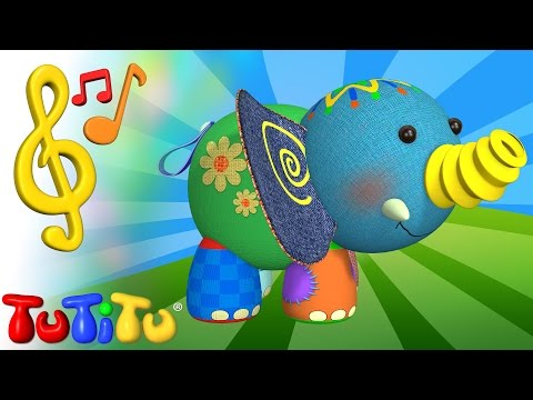 TuTiTu Toys and Songs for Children | Elephant