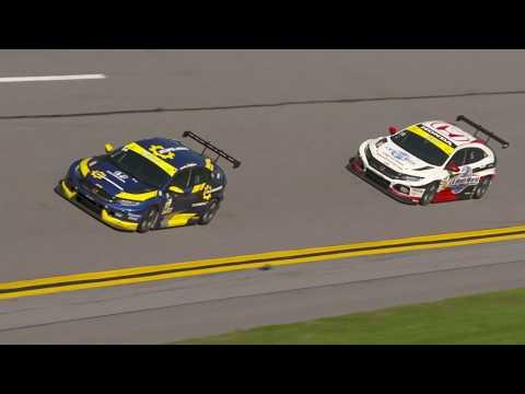 Honda Civic Type R TCR Daytona Michelin Pilot Challenge Recap