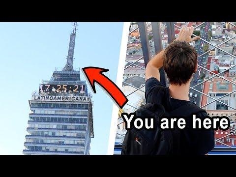 Mexico City's Famous Tower: TORRE LATINOAMERICANA