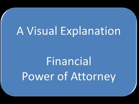 Financial Durable Power of Attorney by Elliott Stapleton in Cincinnati, Ohio