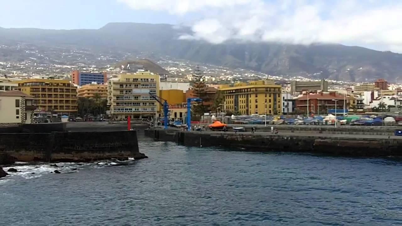 Puerto de la cruz tenerife harbour youtube - Puerto de la cruz sehenswurdigkeiten ...