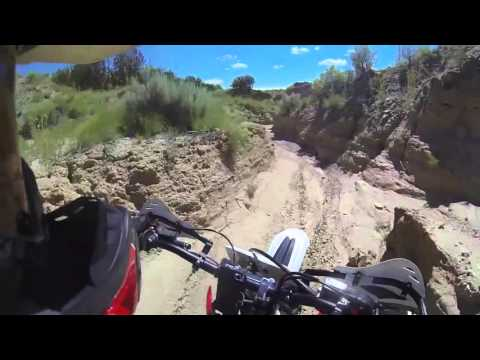 Sand Canyon - Rio Rancho - Albuquerque - New Mexico - Dirt Bike