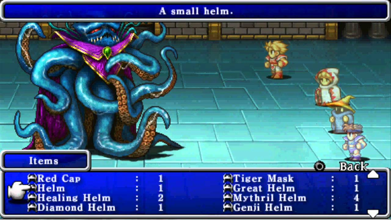 Final Fantasy 20th Anniversary Edition Boss 10 And 11 Kraken And
