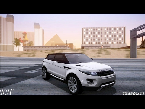 Land rover evoque para gta sa android!!!!! Dff only!! by Wili Modz