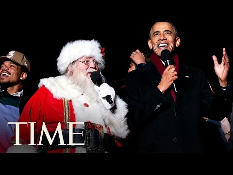 President Obama And Chance the Rapper Sing Christmas Carols Together | TIME