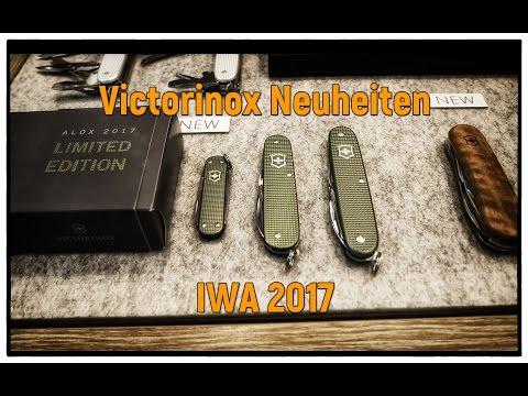 Victorinox Neuheiten auf der IWA Messe in Nürnberg 2017 | Damast Limited Edition