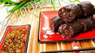 Сундэ (кровяная колбаса) - Наталья Ким(Хотите узнать как готовить Сундэ (кровяная колбаса)? Смотрите видео и сможете легко приготовить ее сами!..., 2013-10-24T19:45:52.000Z)