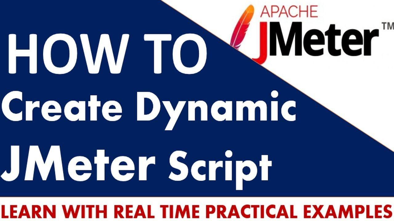 How To Create Jmeter Script As Dynamic  User Defined Variables