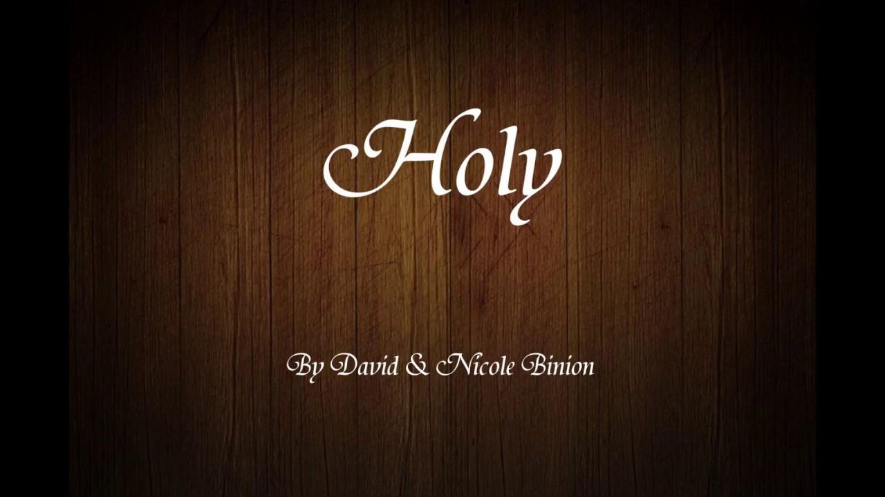 david and nicole binion holy