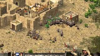 Lets Play Stronghold Crusade 1-3 (slovak)