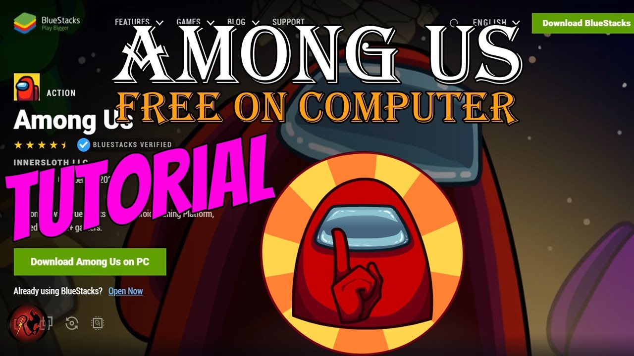 How To Play Among Us For Free On Your Computer Tutorial Bluestacks Youtube