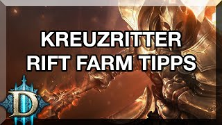 DIABLO 3 RoS ★ - RIFT FARM TIPPS FÜR KREUZRITTER - GUIDE (German/HD)