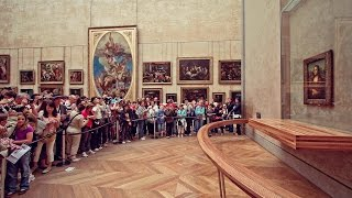 Mona Lisa, The Louvre, Paris, France from Ivanka s little treasures