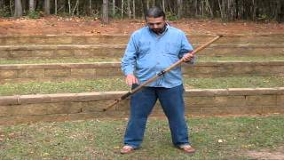 How to play a Native American Walking-Stick Flute