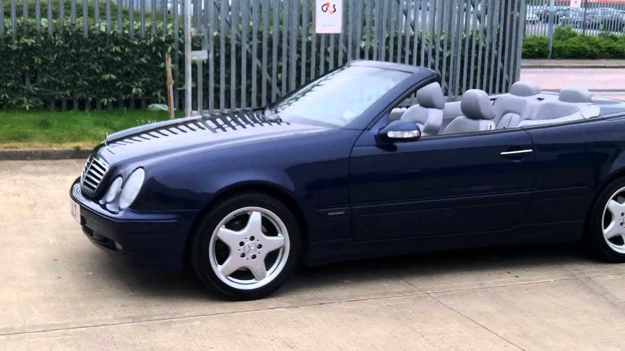 Dc Cars Mercedes Clk 320 Convertible Youtube