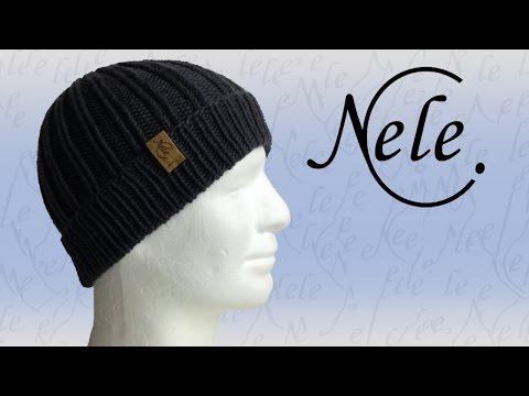 Mütze stricken für Anfänger, DIY Anleitung by NeleC.