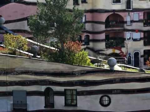 Waldspirale Darmstadt - Das Hundertwasserhaus
