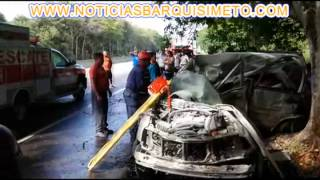 ACCIDENTE AUTOPISTA DE YARACUY. NOTICIASBARQUISIMETO.COM