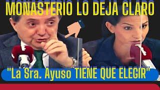 """🔥ROCÍO MONASTERIO tiene ¡¡PILLADA!! a ISABEL DÍAZ AYUSO: (""""o Génova o VOX"""")"""