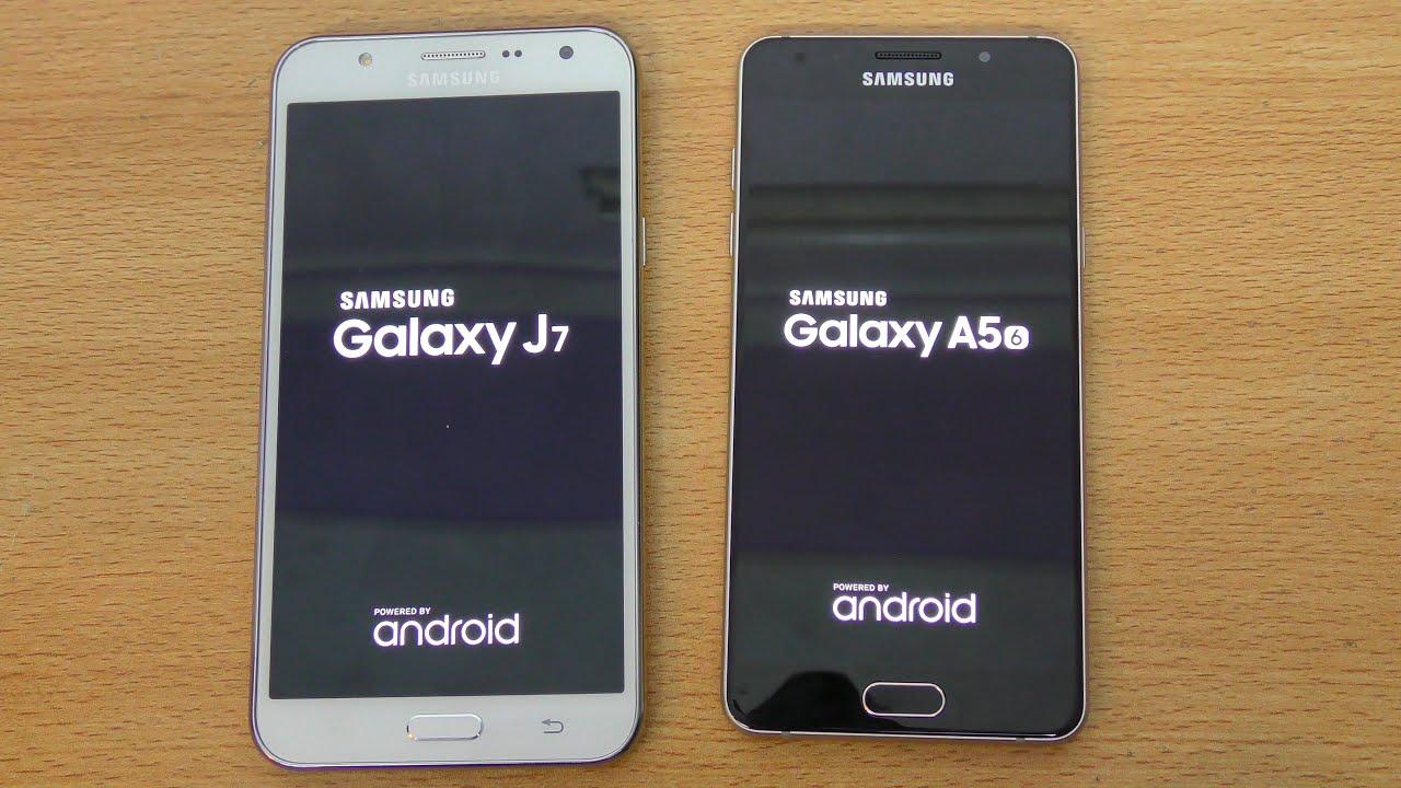 Samsung Galaxy A5 2016 Vs Galaxy J7