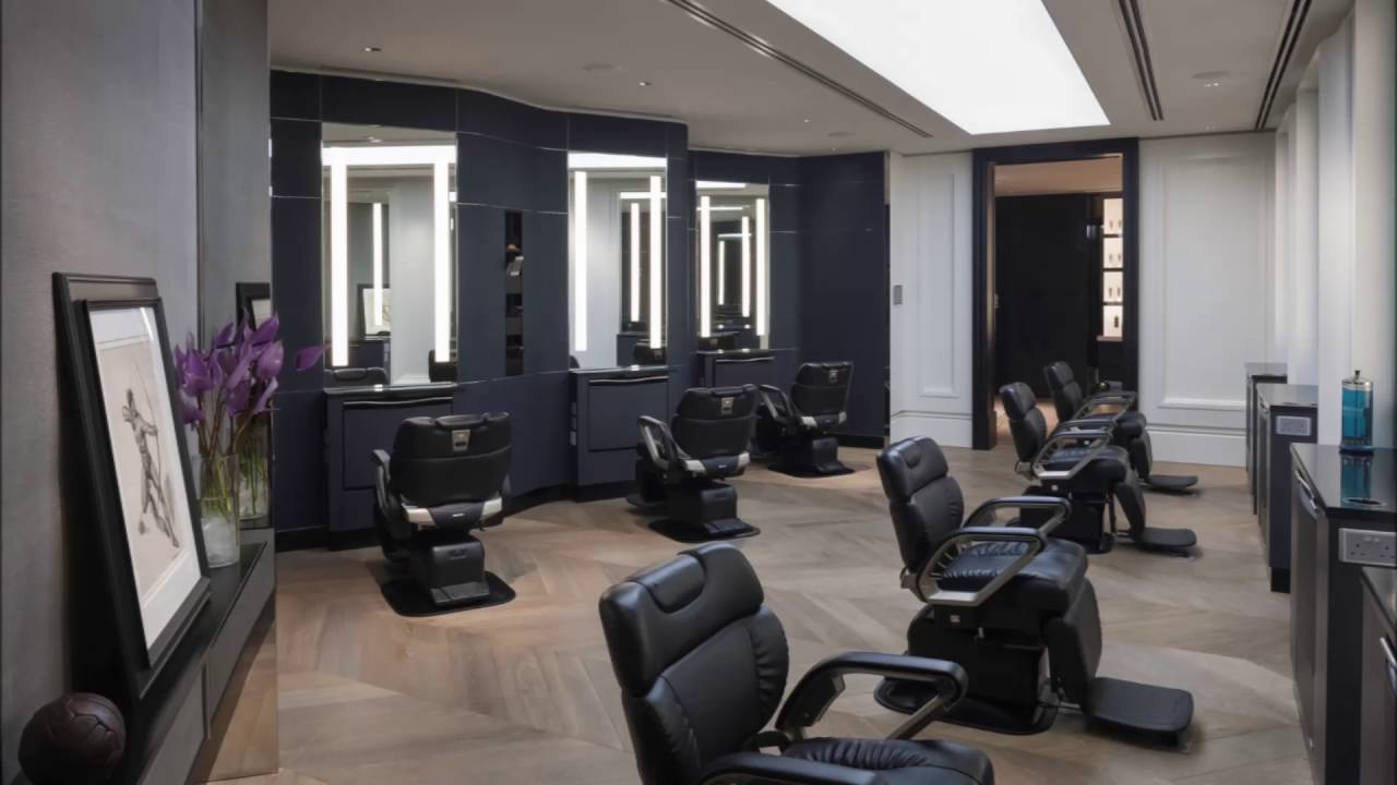 modern hair salons with grey basic color youtube rh youtube com modern hair salon design ideas
