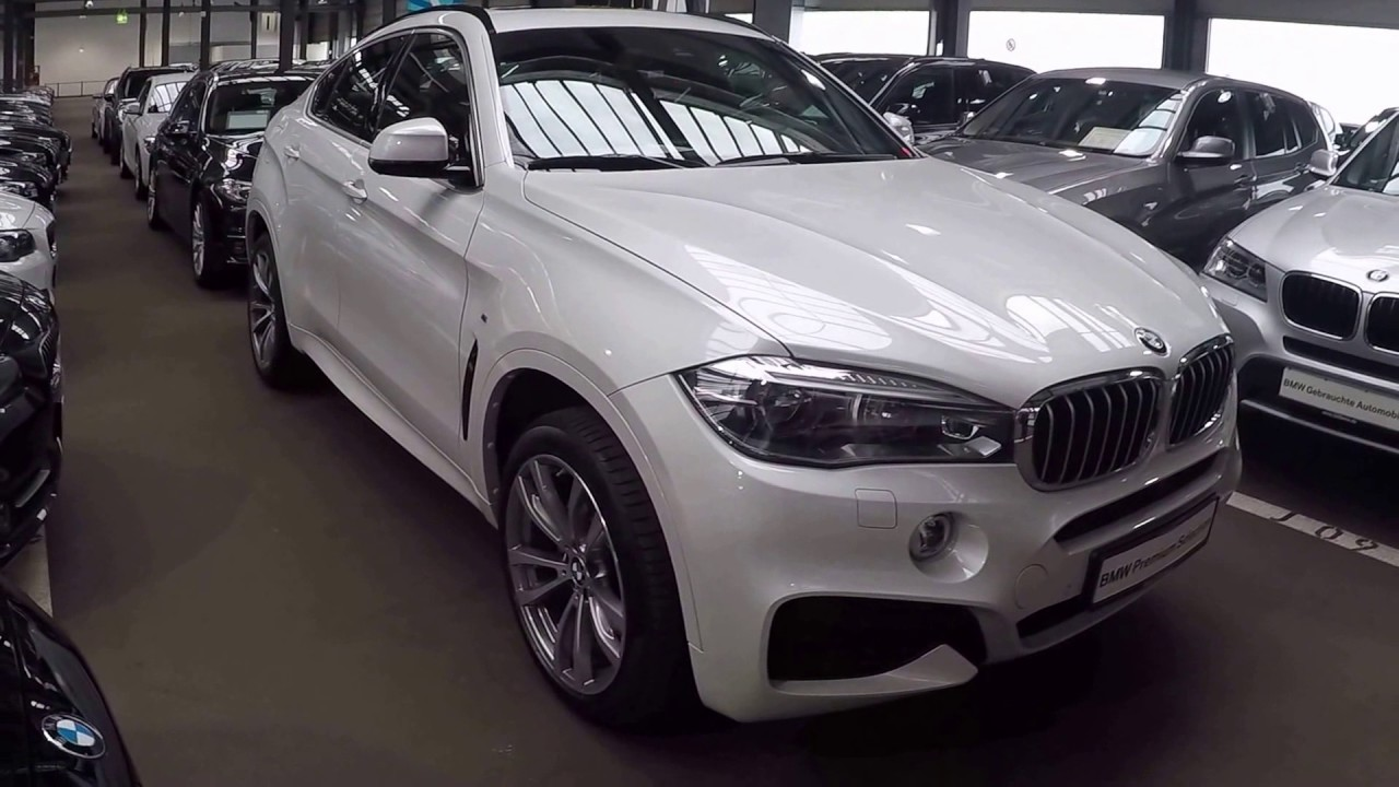 BMW X6 M PERFORMANCE !! NEW MODEL 2017 !! WALKAROUND !! ALPIN WHITE COLOUR  !!   YouTube