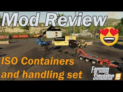 Mod Review - ATC ISO Container pack Farming Simulator 19