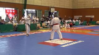 Amaizing Karatedo Legend Hanshi Masayuki Hisataka 9th dan, at 74 demonstrates..UNBELEIVABLE!!