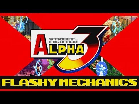 SFA3 - Flashy Mechanics