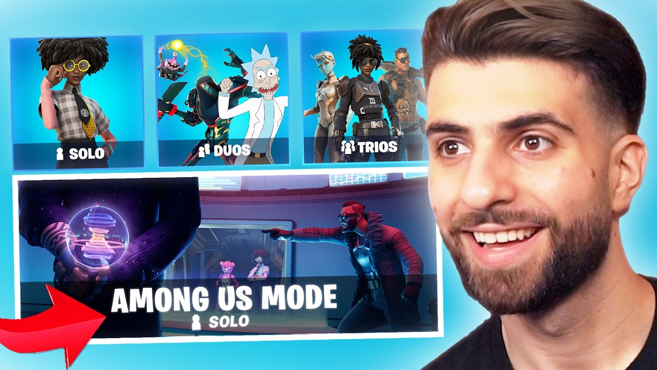 Download The NEW Among Us Mode in Fortnite!