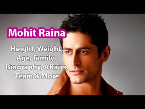 Mohit Raina Height,Weight,Age,Family,Salary,Wife and more