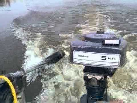 Vintage very rare running 1971 sears 5hp outboard motor for 5hp outboard motor for sale