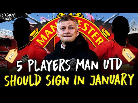5 Players Manchester United Should Sign - In the January Transfer Window!