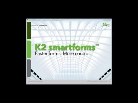07 26 12 Faster forms  More control   A K2 smartforms webinar