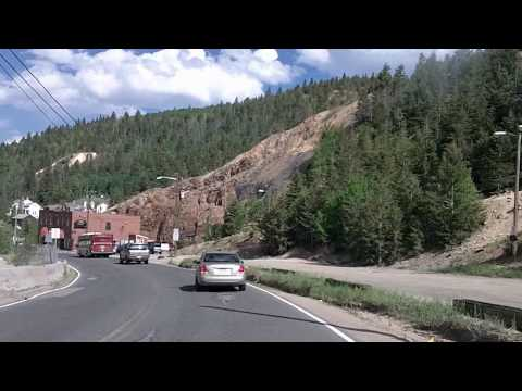 Peak to Peak Byway: Central City, Black Hawk, CO 119 Time Lapse