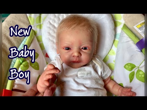 He's Not Real???? New Reborn Baby Boy Lindea By Gudrun Legler